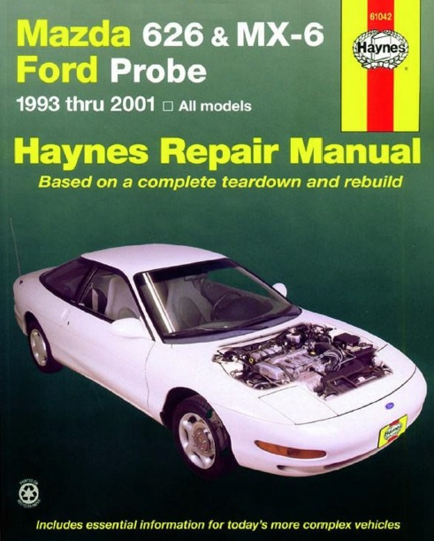 repair manual ford probe mazda mx6 rh fordprobe24v com mazda mx6 repair manual free download mazda mx6 manual pdf